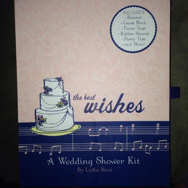 bridal shower kit brand new never opened