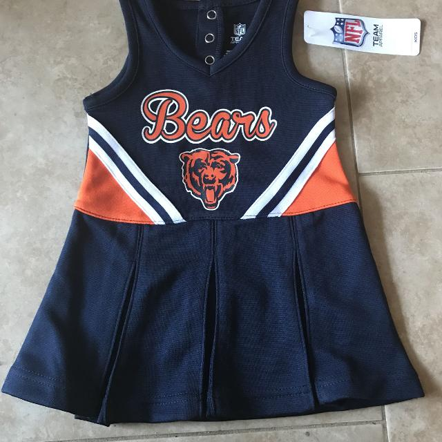 separation shoes 1c43b 3f34b NFL Chicago Bears cheerleader outfit - toddler girl 12 month