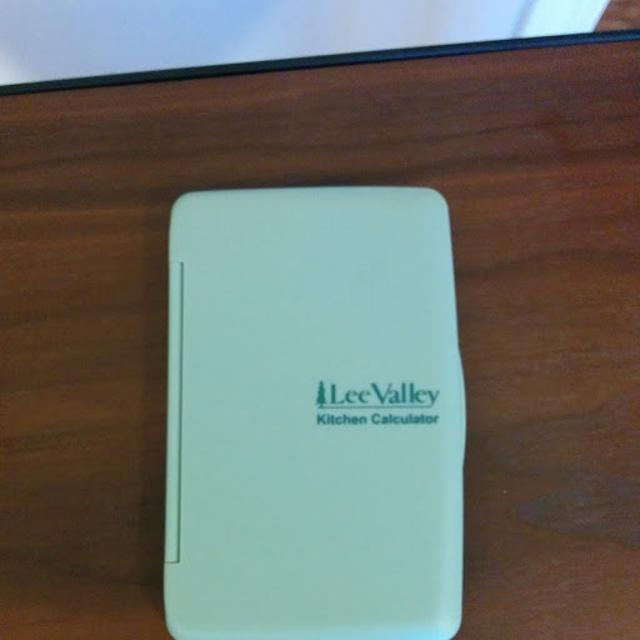 find more lee valley kitchen calculator for sale at up to 90 off