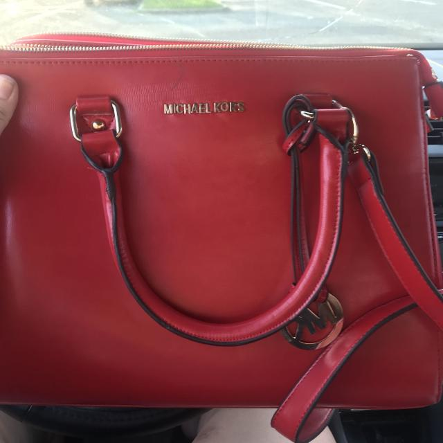 888d69885391 Best **price Drop** Red Michael Kors Purse for sale in Mobile, Alabama for  2019