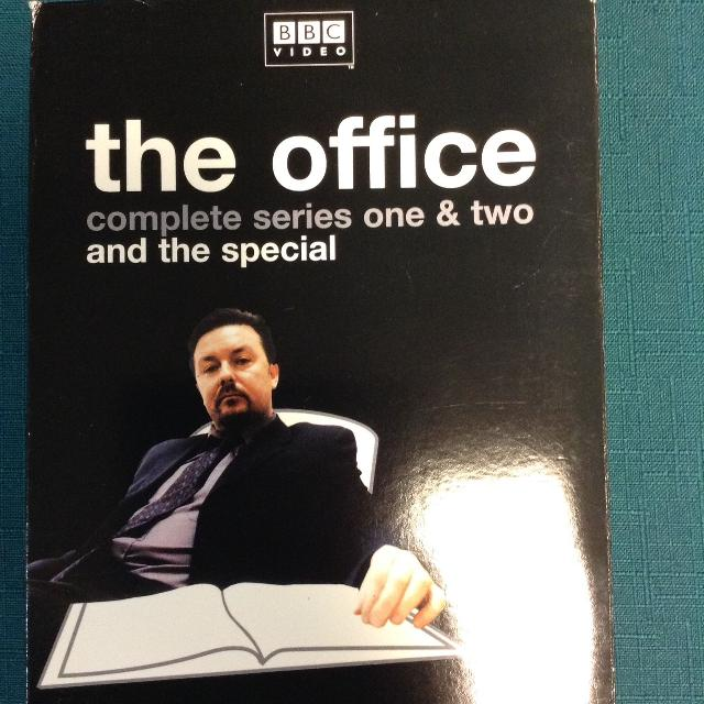 Dvd The Office Complete Series 1 2