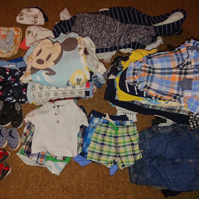 3ff0040d3 Find more Large Box Of Baby Boy Clothes Size Newborn To 12 Months ...