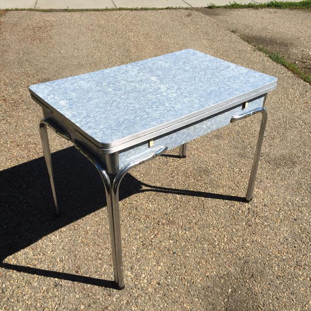 Find More Vintage 1950's -1960's Arborite Table For Sale