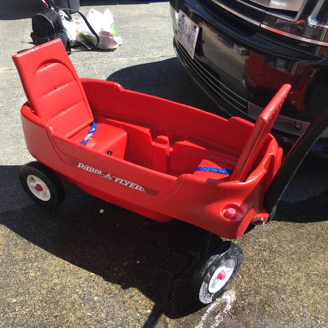Wagon With Seat Belts | The Wagon