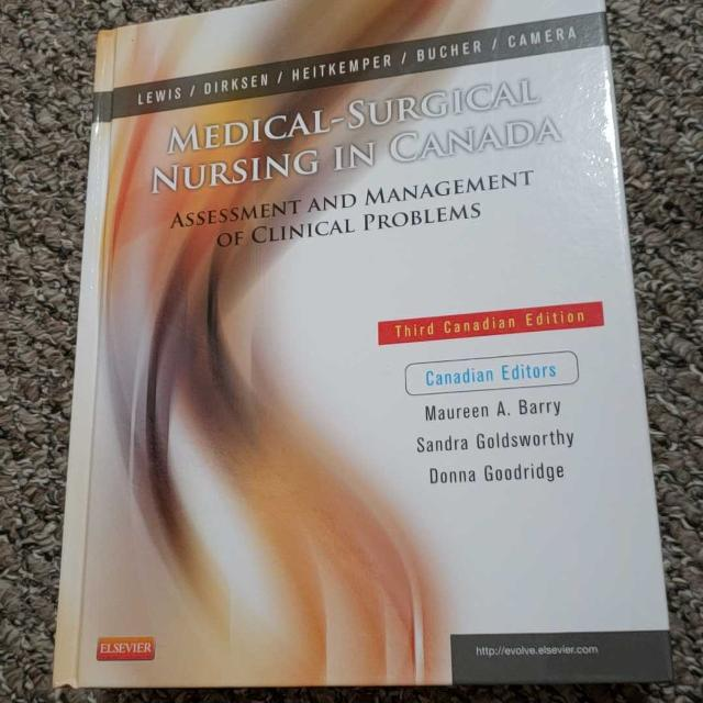 Medical-Surgical Nursing in Canada 3rd edition