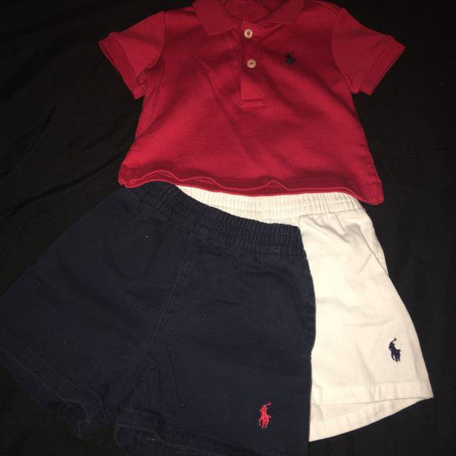 a99a169bf Best Baby Boy Polo Ralph Lauren Shirts & Shorts Size 3 Months for sale in Brazoria  County, Texas for 2019