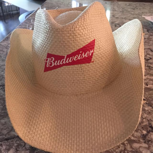 Find more Budweiser Cowboy Hat. Great For Craven country Thunder ... 6fce512643c