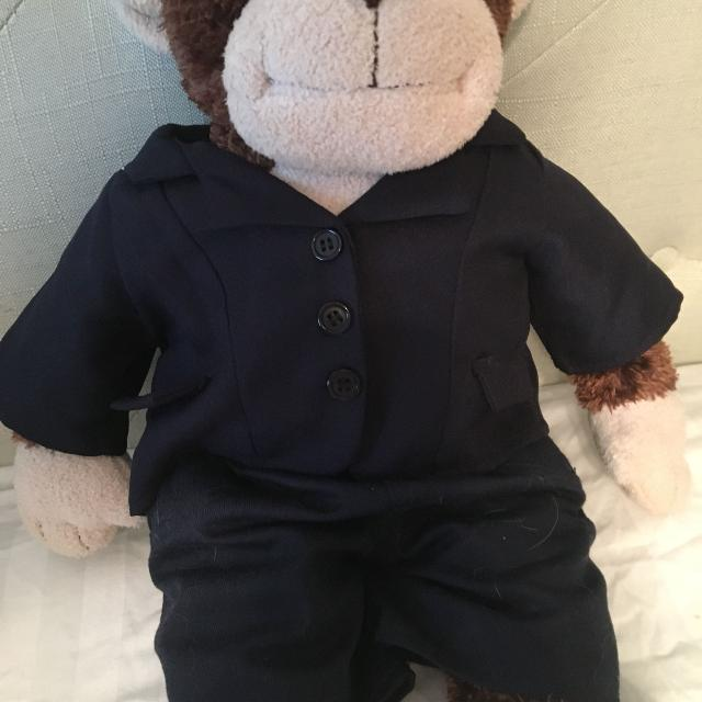 Retired build a Bear with suit FINAL REDUCTION!