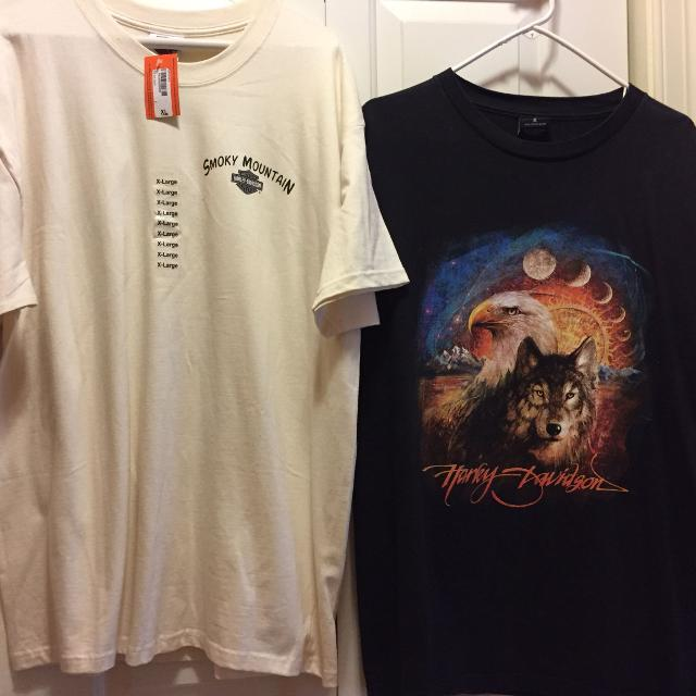 b3ffe00c Find more 2 Men's Harley Davidson Ss T-shirts(1 Is Nwt) Both Are Sz ...