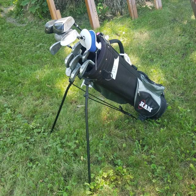 2d6bf404dd Find more Left Handed Ram Golf Clubs And Stand Bag for sale at up to ...