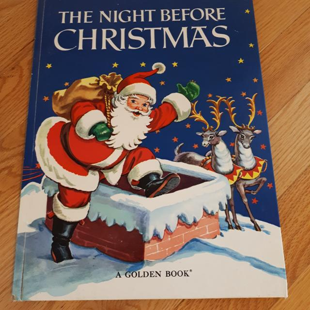 the night before christmas book golden book - Night Before Christmas Book