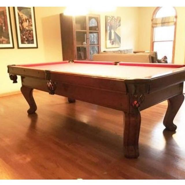 Find More Ft Chateau By Brunswick Slate Pool Table For Sale At Up - Brunswick chateau pool table