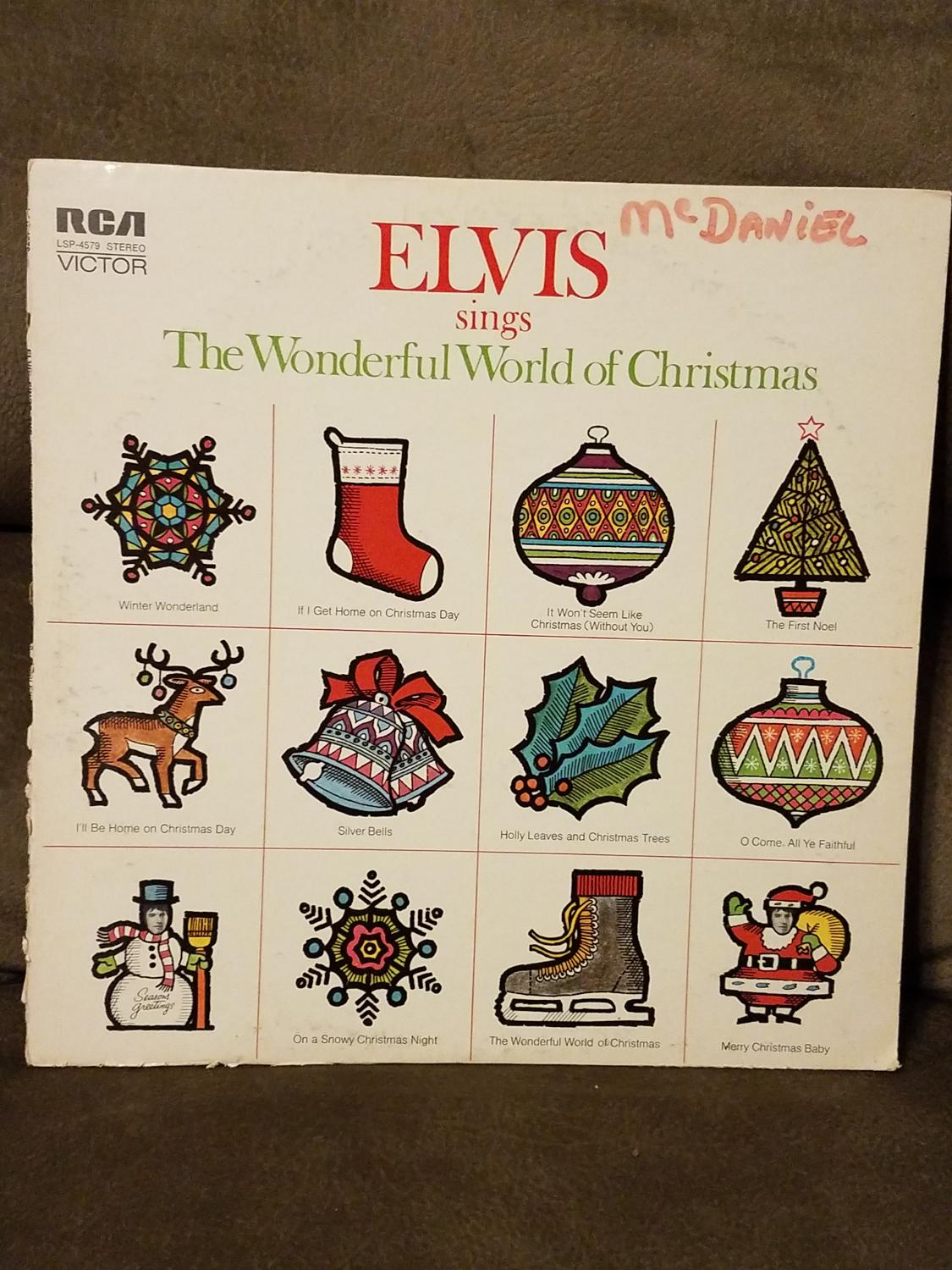 Best Elvis Sings The Wonderful World Of Christmas for sale in ...
