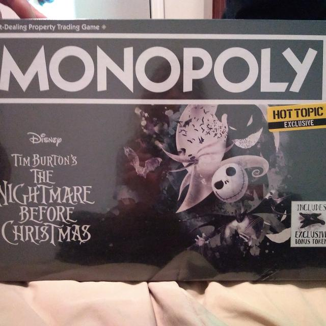 Best Monopoly Nightmare Before Christmas for sale in Indianapolis, Indiana for 2019