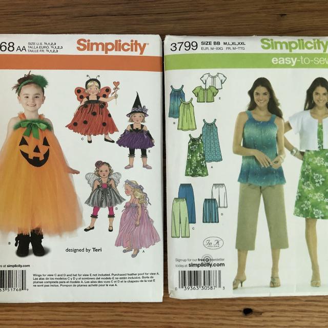 Best Simplicity Patterns for sale in Friendswood Texas for 40 Fascinating Simplicity Patterns On Sale