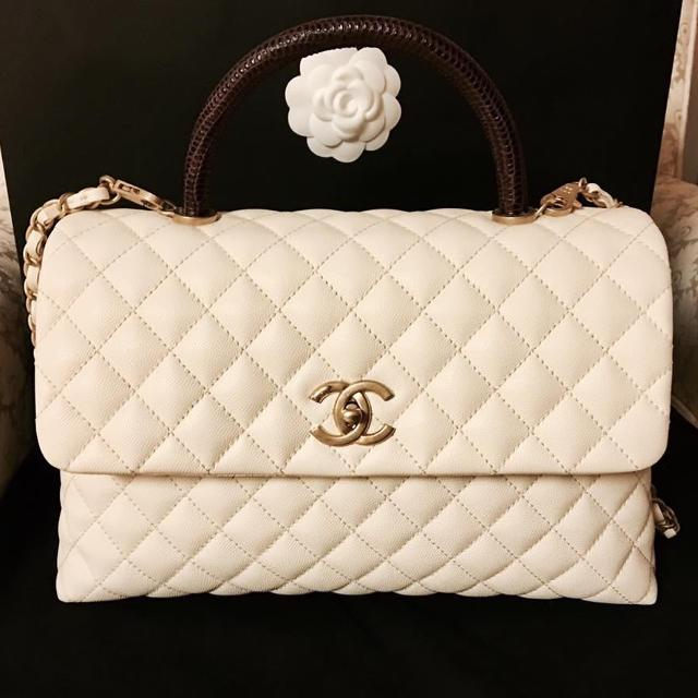 "6e5dfd14e06800 Best Brand New Chanel Coco Purse Caviar Skin Lizard 12"" Come With Box ,  Paper Bag , Dust Cover for sale in Victoria, British Columbia for 2019"