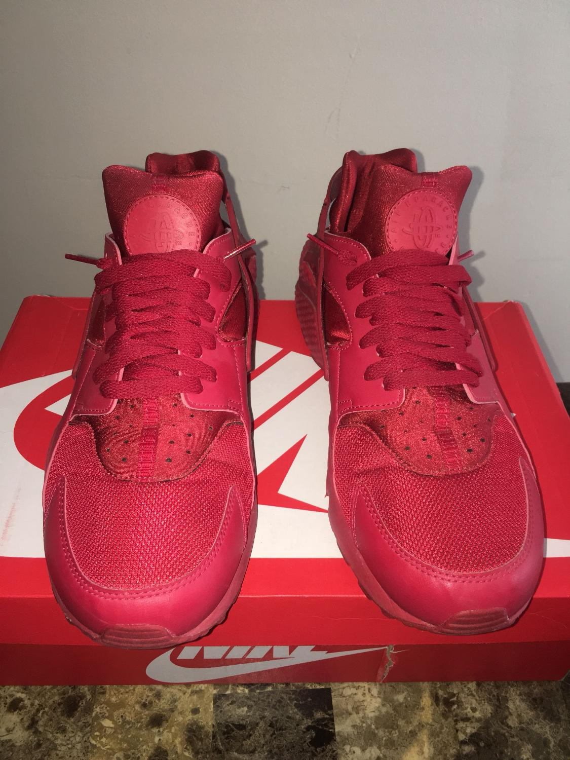 260f62a24c369 Best Nike Air Huarache Triple Red Size 13 for sale in Barrie ...