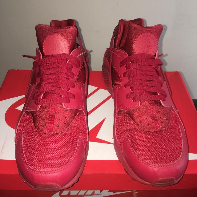 newest collection 76c50 d1712 Best Nike Air Huarache Triple Red Size 13 for sale in Barrie, Ontario for  2019