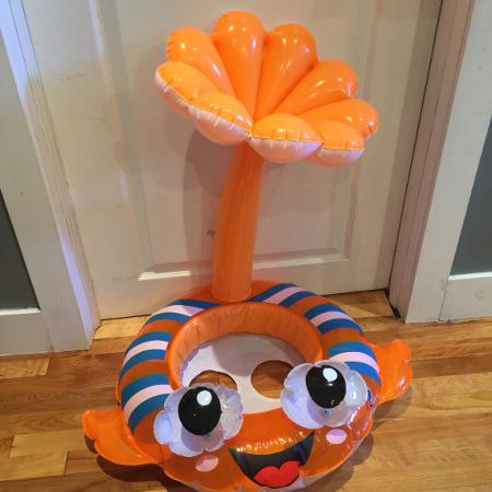 Baby Blow up Fish Floatie, used for sale  Canada