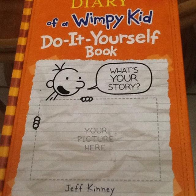 Best nwt hb diary of a wimpy kid do it yourself book childrens diary of a wimpy kid do it yourself solutioingenieria Gallery