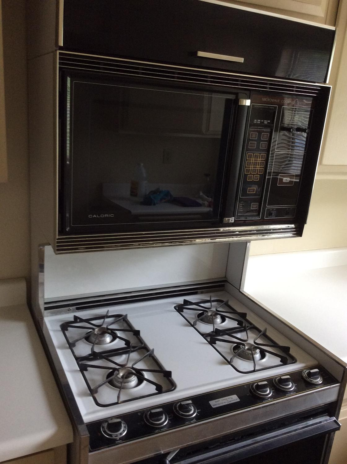Best Caloric Gas Stove Microwave Unit For Sale In Palm