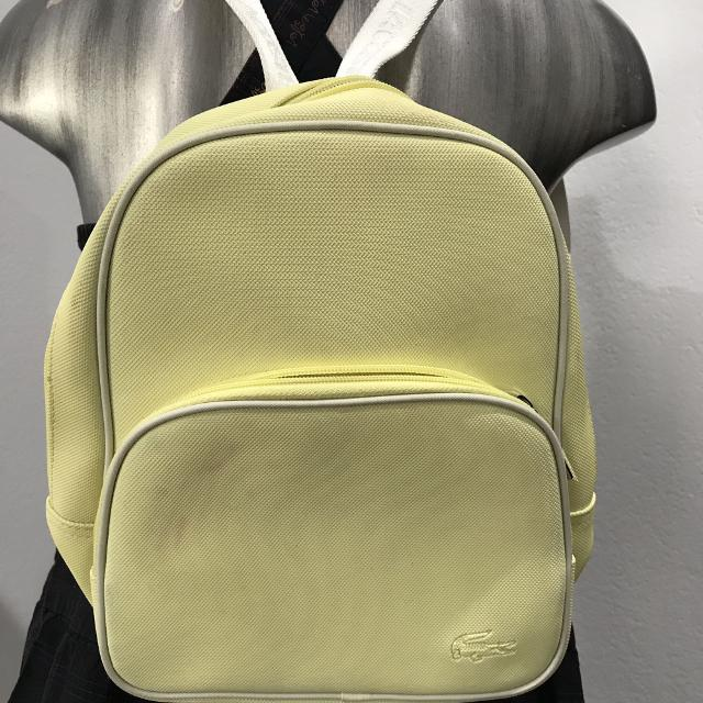 5d8d58ef28b Best Lacoste Classic 11 18 Junior School Backpack Pastel Yellow New With  Tag for sale in Placentia