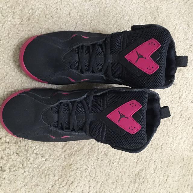 2c1599ca1986 Best Air Jordan True Flight Black pink Basketball Shoes 3y for sale in  Jonesboro