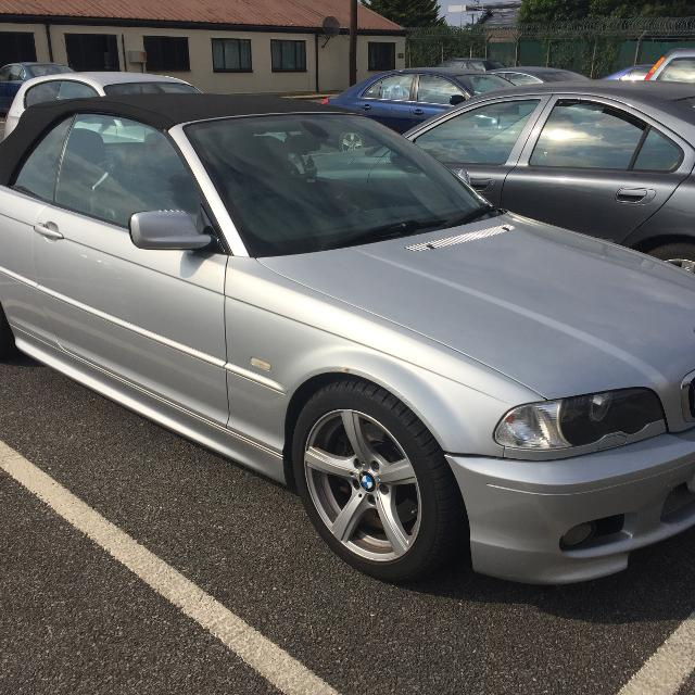 2003 bmw 330ci convertible sport package