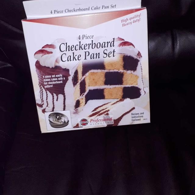 Best Checkerboard Cake Pan Set For Sale In Keswick Ontario For 2018