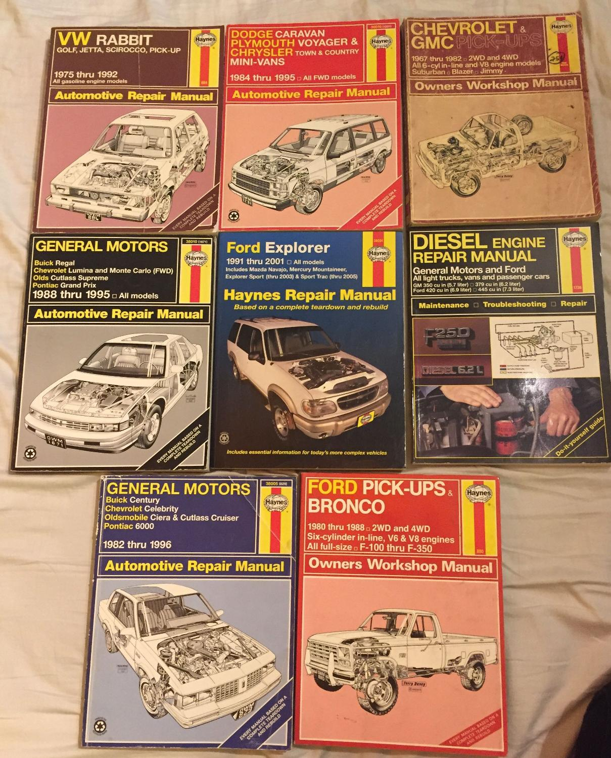 Best Assorted Haynes Automotive Repair Manuals for sale in Mississauga,  Ontario for 2018