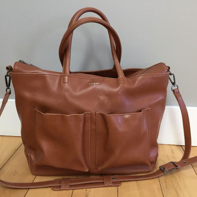 Matt Nat Raylan Diaper Bag In Chili