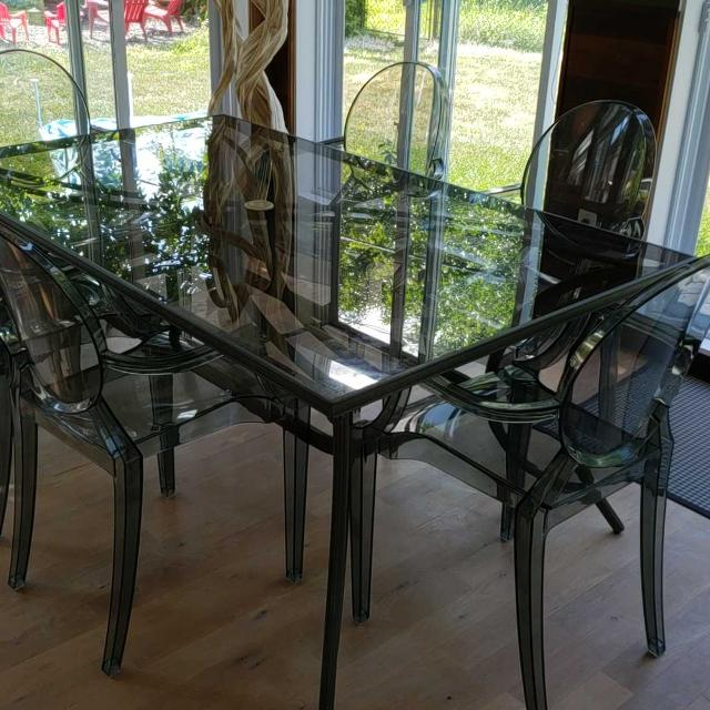 Find More Table De Patio Verre Trempe Et Aluminium For Sale At Up To