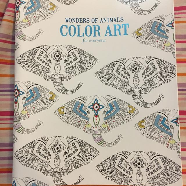 Wonders Of Animals Color Art For Everyone Coloring Book