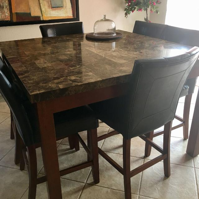 Best Granite Top Dining Table With Console For Sale In Cathedral City California For 2020