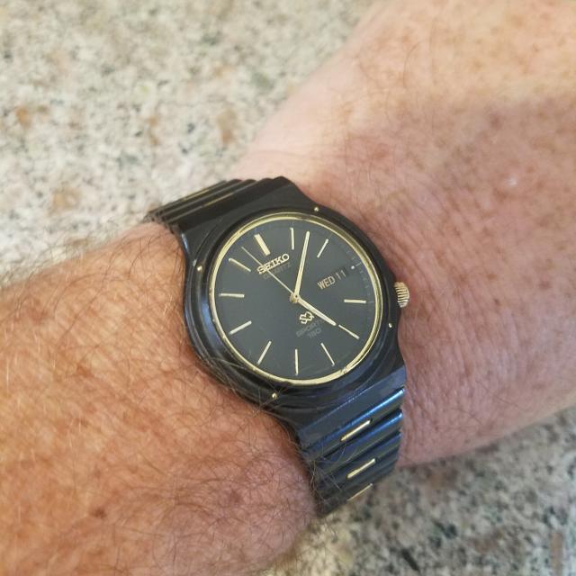 Seiko Perpetual Calendar.Mens 1978 Seiko Perpetual Calendar Watch Runs And Looks Great