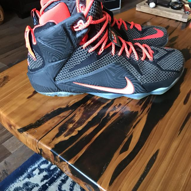 another chance 092a8 7ebb5 Nike LeBron 12 Court Vision *****REDUCED - make offer ? ***** 4 photos *****