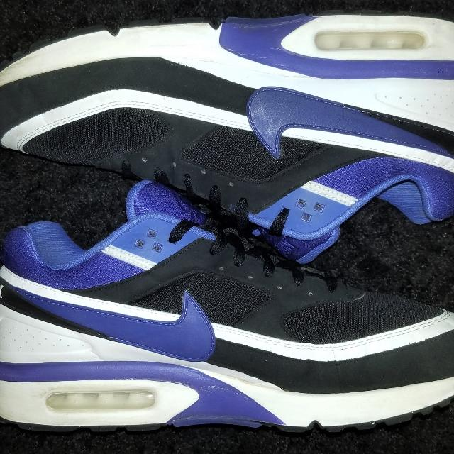 e6aba19628bc5 NIKE AIR MAX BW OG RUNNING SHOES BLACK PERSIAN VIOLET 819522-051 Men's Size  14