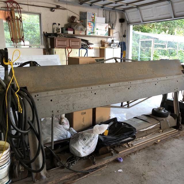 Metal Brake For Sale >> 8 Foot Sheet Metal Brake Does Up To 18 Gauge