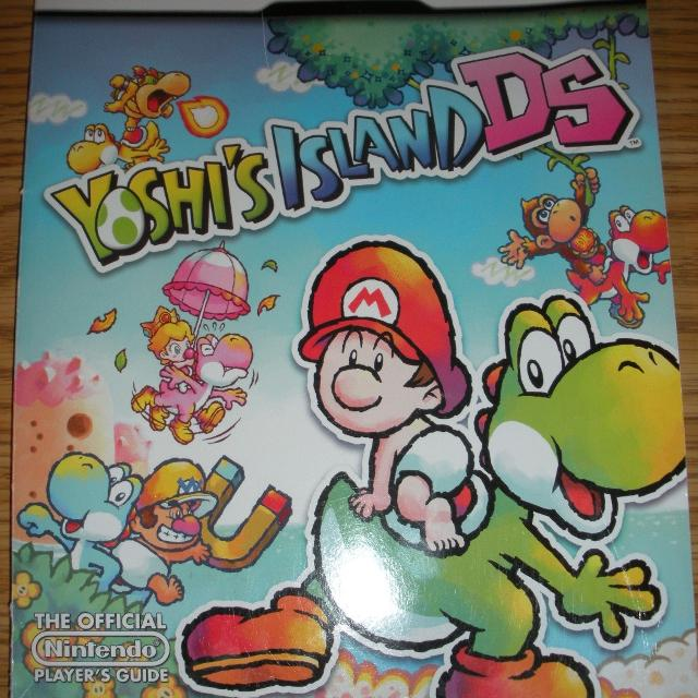 Best yoshis island ds players guide book in excellent condition yoshis island ds players guide book in excellent condition sciox Image collections