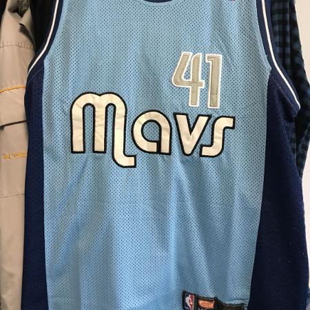 Nba Dallas Mavericks, sz M-L, Dirk... for sale  Canada
