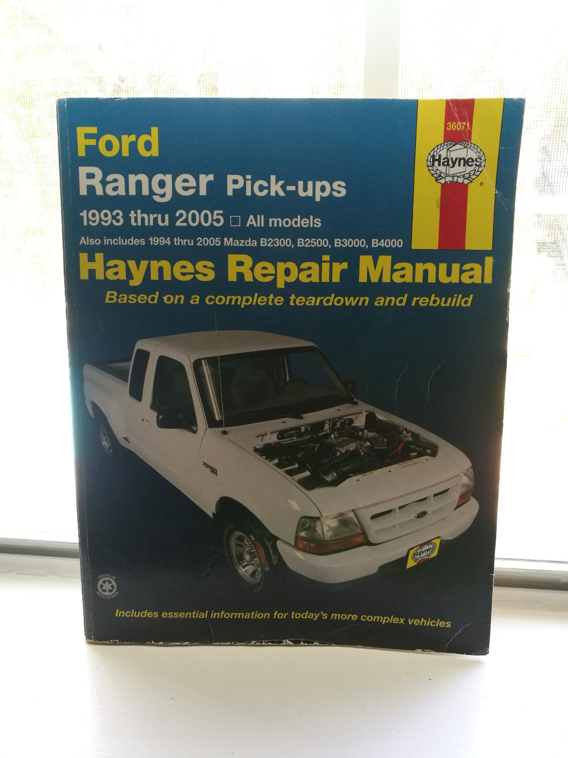 Best Haynes Repair Manual Ford Ranger 93-05 for sale in Brazoria County,  Texas for 2018