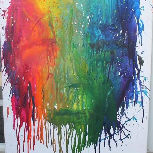 Best Original Wall Art (melted Crayon) - Make An Offer for sale in ...