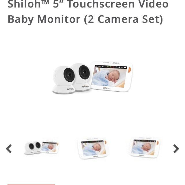 0a310fd614e Find more Shiloh Double Camera Monitor for sale at up to 90% off