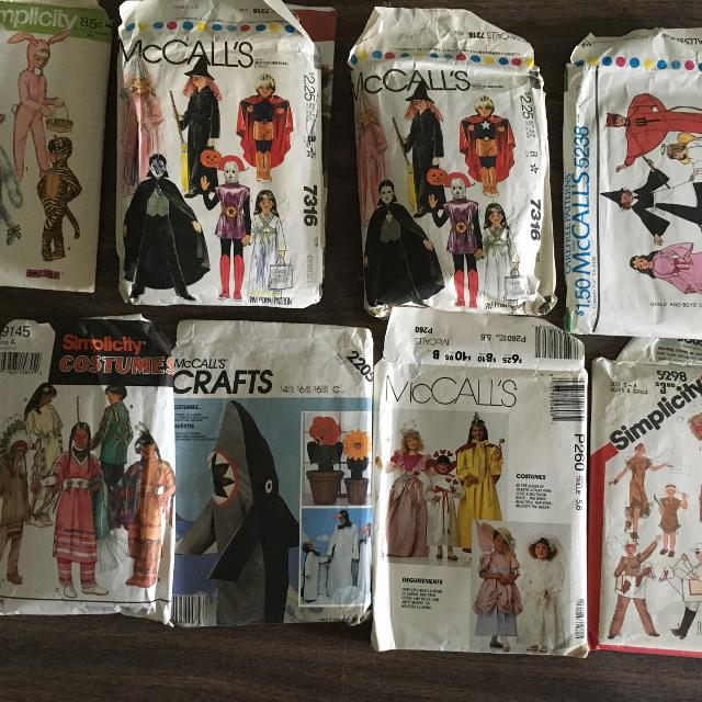 Best Halloween Sewing Patterns For Sale In Erie Pennsylvania For 2018