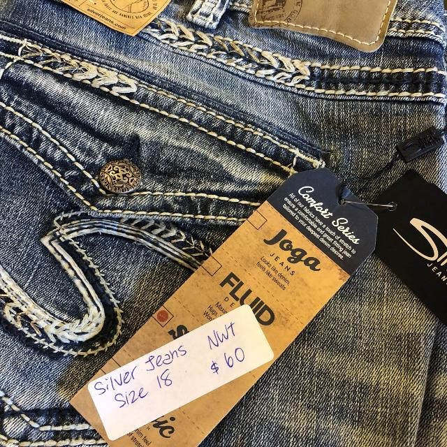 4ddc2647 Best Nwt Size 18 Silver Jeans for sale in Victoria, British Columbia for  2019
