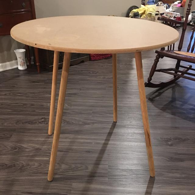 Round Table Skirts Decorator.30 Round Mdf Decorator Table Set Your Short Christmas Tree On Top