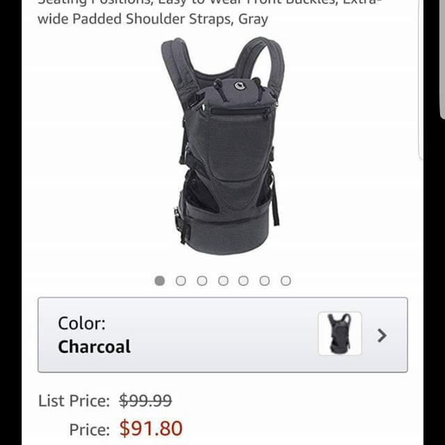 8772fb625c8 Best Contours Love 3 In 1 Baby Carrier for sale in Roseville ...