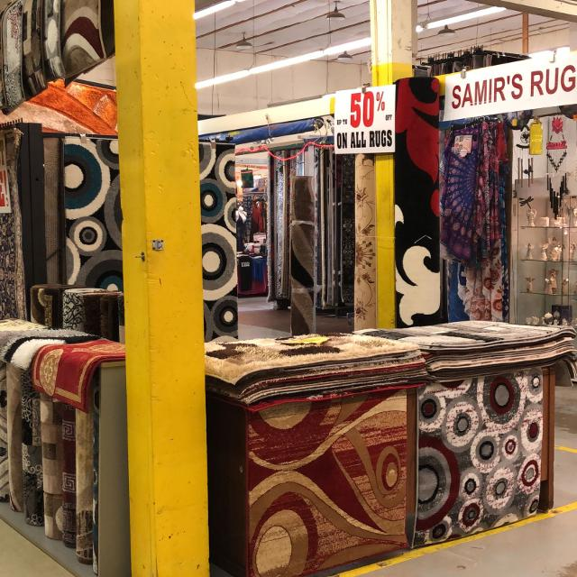 50% OFF on Rugs Tomorrow @ Courtice Flea Market