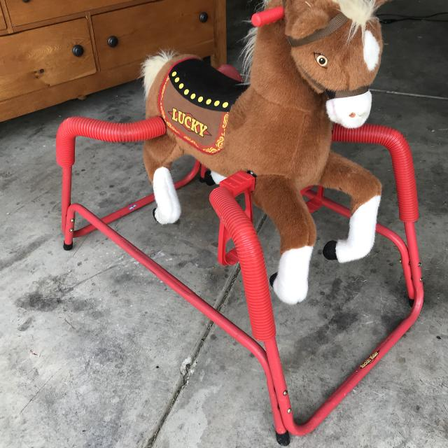Best Rockin\' Rider Lucky Animated Horse for sale in New Braunfels ...