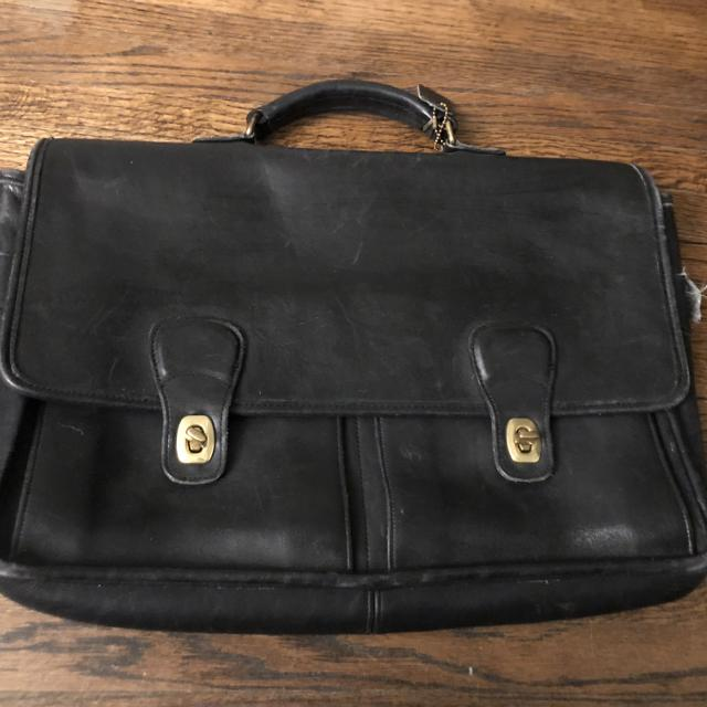 40a36fad58d2 Best Vintage Coach Women s Briefcase- Black Leather for sale in Calgary